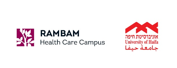 Logos: Rambam Health Care Campus and University of Haifa